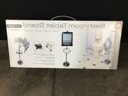 bathroom tablet stand ipad with toilet paper