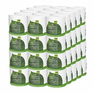 Seventh Generation Bathroom Tissue, 2 Ply Sheets, 500 Count