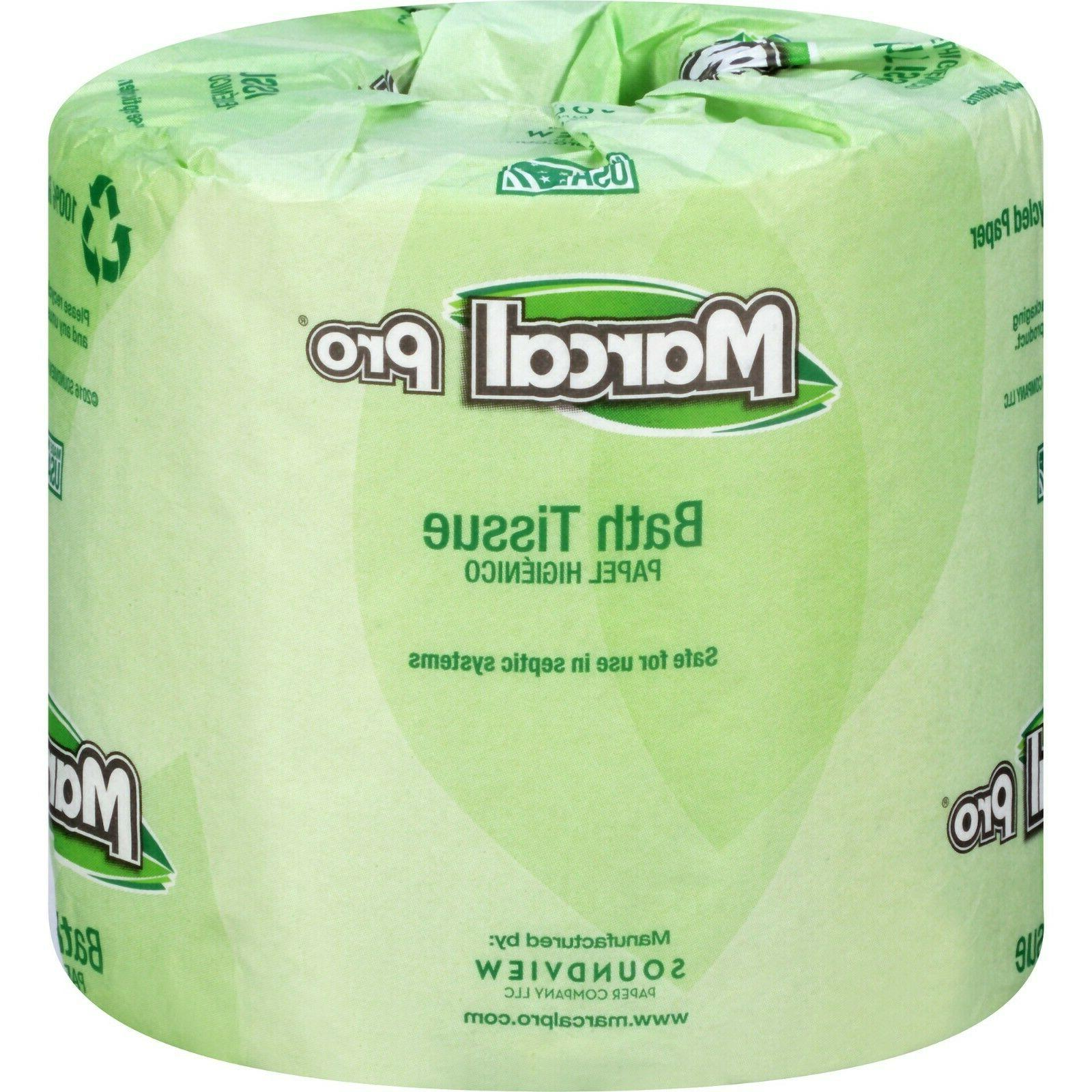 Marcal Bathroom Tissue Septic Safe 2-Ply White 240 Sheets/Ro