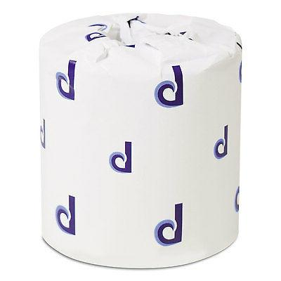 bathroom tissue standard 2 ply white 4