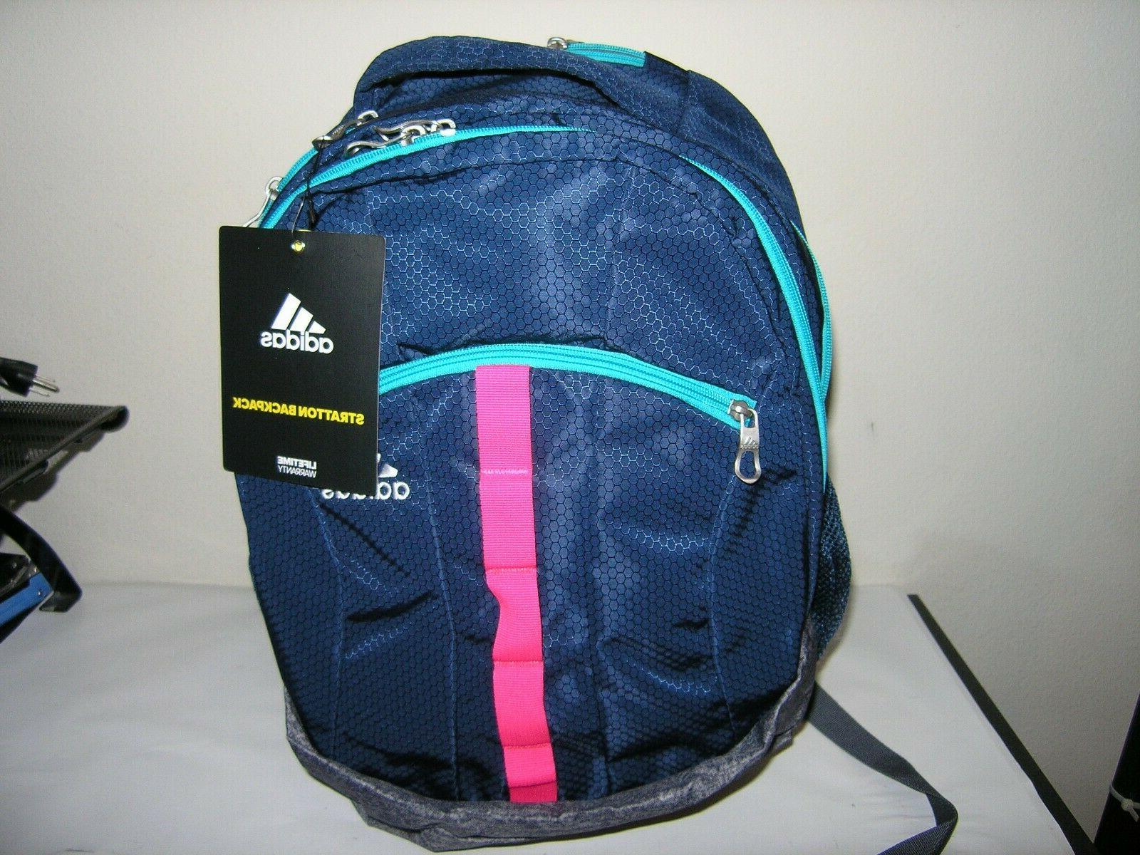 brand new stratton xl backpack blue grey