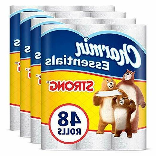 charmin essentials strong toilet paper 48 count