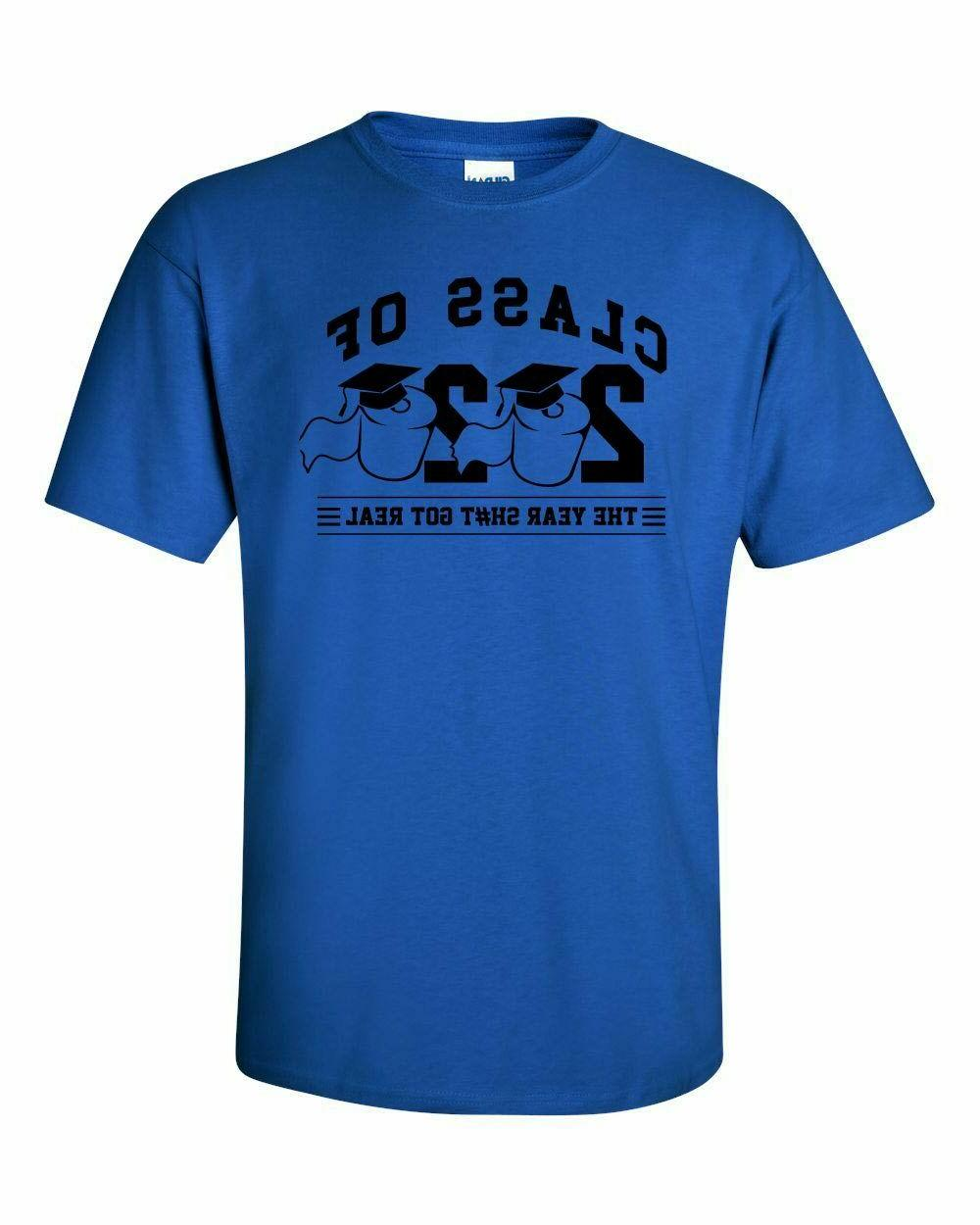 Class Toilet T-shirt Year Sh#t Real Colors