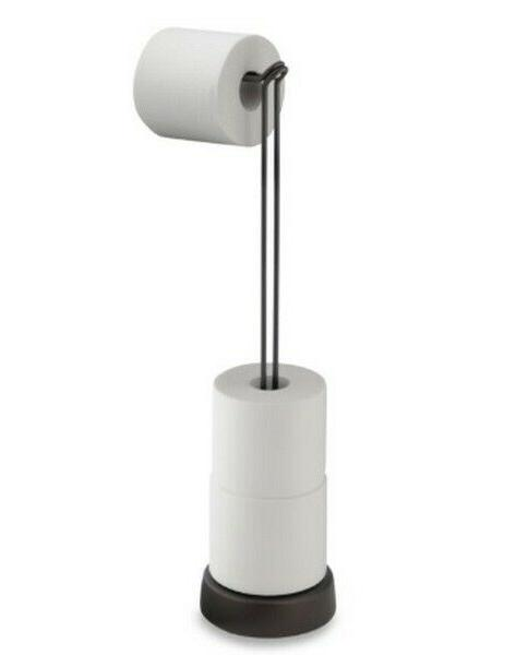 classico toilet paper stand plus bathroom tissue