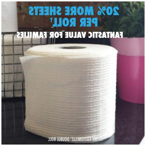 Cottonelle CleanCare Roll Toilet Paper 36 Rolls, and