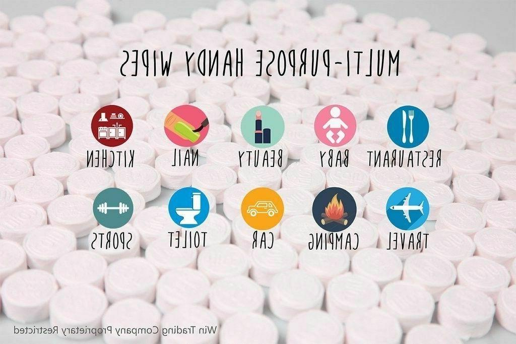 Coin Tissues   Compressed Towels   Toilet  500