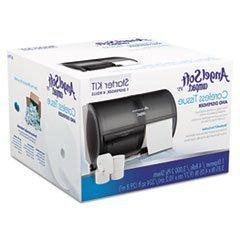 Compact Toilet Paper Dispenser and Angel Soft ps Compact Cor