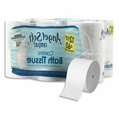 coreless bath tissue
