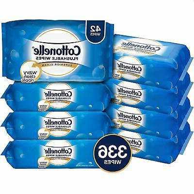 cottonelle freshcare flushable wipes for adults wet