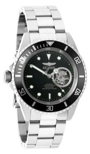 diver 20433 silver stainless steel