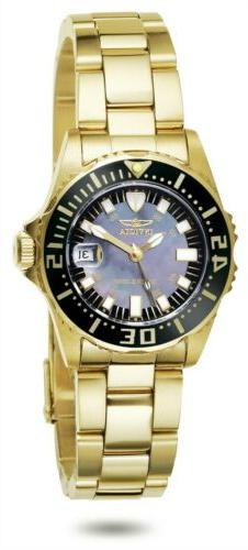 Invicta Womens Pro Diver Abyss Stainless Steel Bracelet Watc