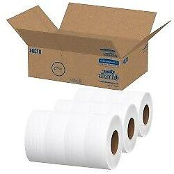 Scott Essential Extra Soft JRT 2-Ply Toilet Tissue 12 per Ca