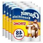 Charmin Essentials Strong Toilet Paper, Giant Rolls, 48 Coun