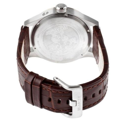 Invicta I-Force Stainless Brown