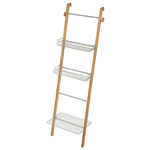 formbu standing bathroom storage ladder