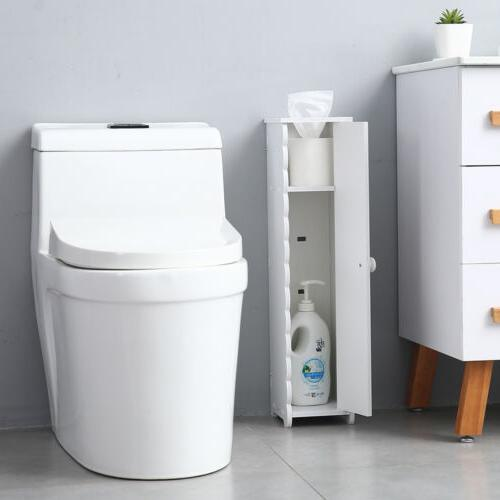 US Stock Roll Bathroom Cabinet Free Standing