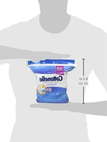 Cottonelle Refill, 168 Wipes