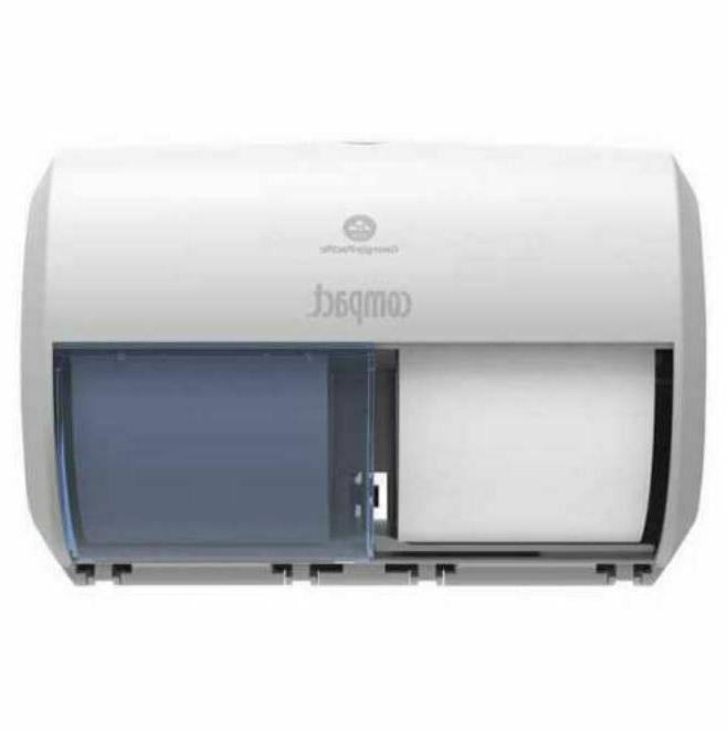 georgia pacific 56783a compact toilet paper dispenser