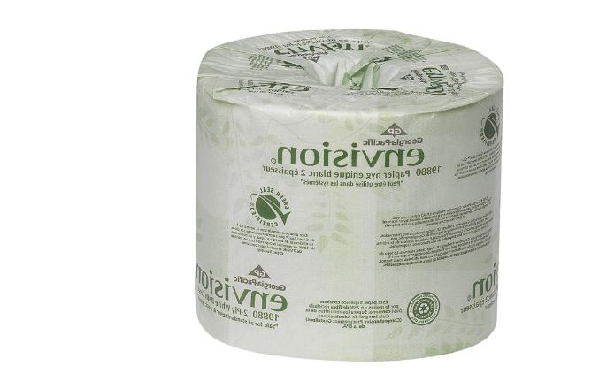 Georgia Pacific Envision 2-Ply Embossed Toilet Paper 80 Roll