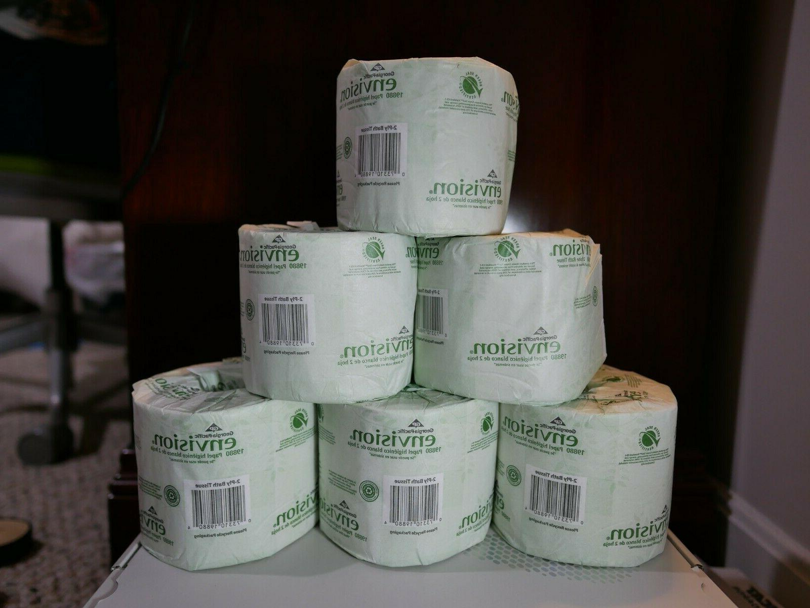 georgia pacific toilet paper individually wrapped 6