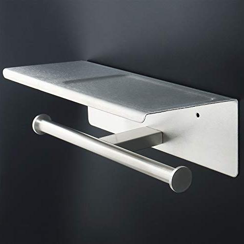 Alise GYT880 Double Roll Installation of and Wall Stainless Steel Brushed Nickel