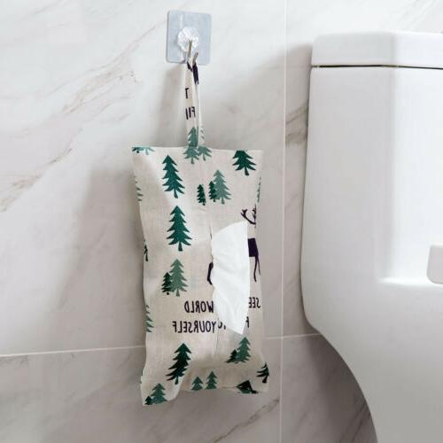 Hanging Toilet Paper Box Fabric Case