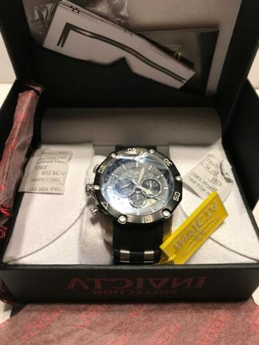 Invicta 28753 Pro Chronograph Stainless Steel Watch Silicone