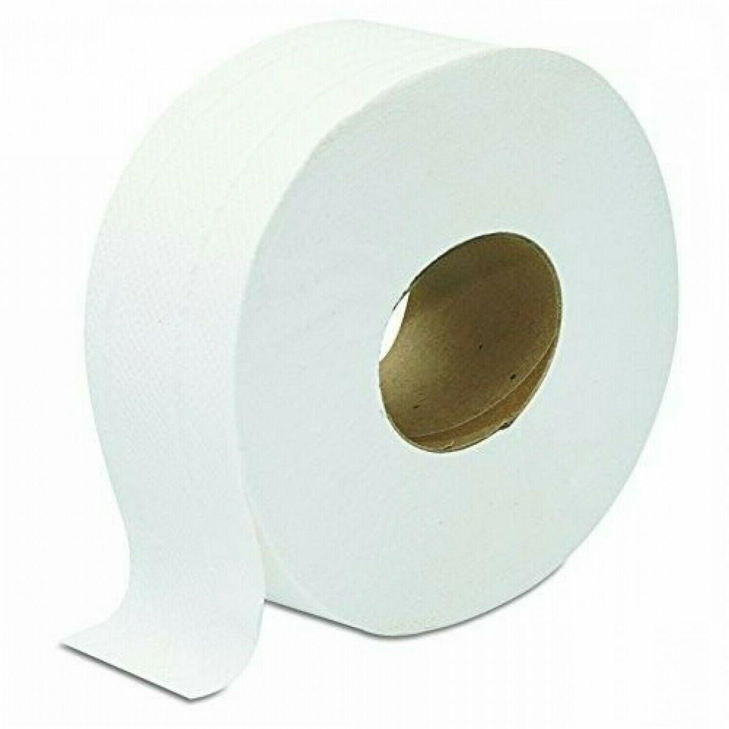 Large Toilet Paper 9'' 2 Ply Roll 12 Pack Big Office Commerc