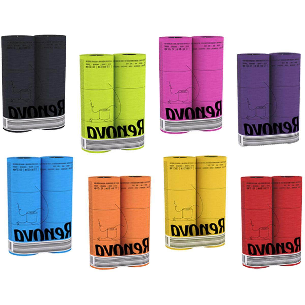 luxury scented colored toilet paper 6 rolls