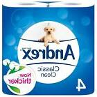 Andrex New and Improved Classic Clean Toilet Roll Tissue Pap