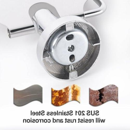 NEW Tissue Toilet Paper Holder Stainless Steel Wall Mounted