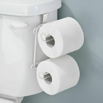 over tank toilet tissue paper roll holder