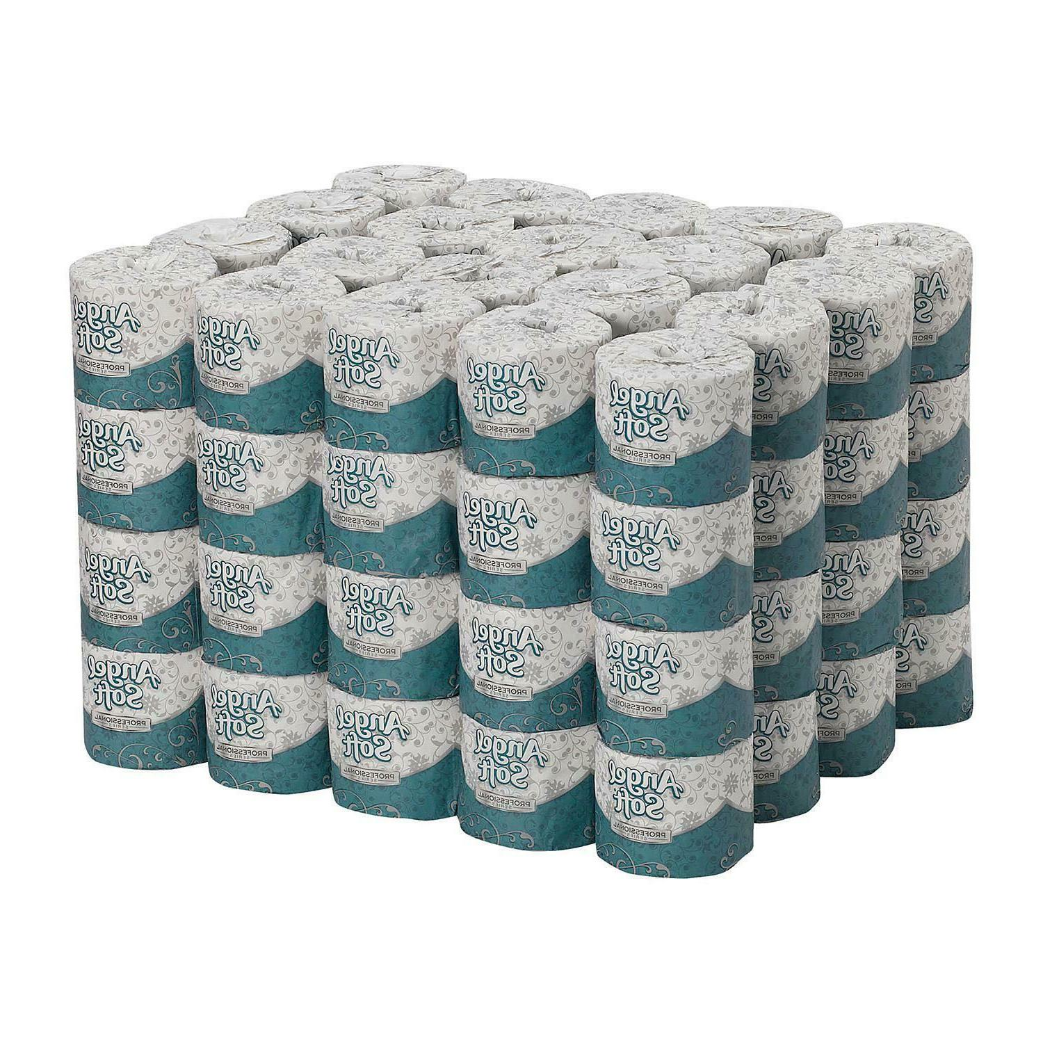 Angel Soft Professional Series 2-Ply Toilet Paper, 450 Sheet