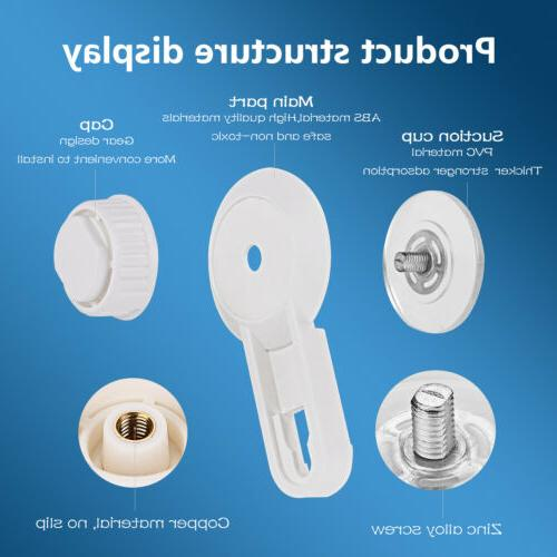 Punch Free Toilet Roll Wall Suction Kitchen