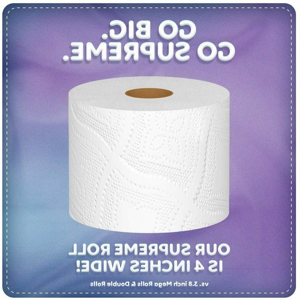Quilted Northern Plush Toilet Paper, Supreme Rolls