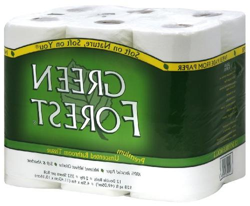 recycled bathroom tissue