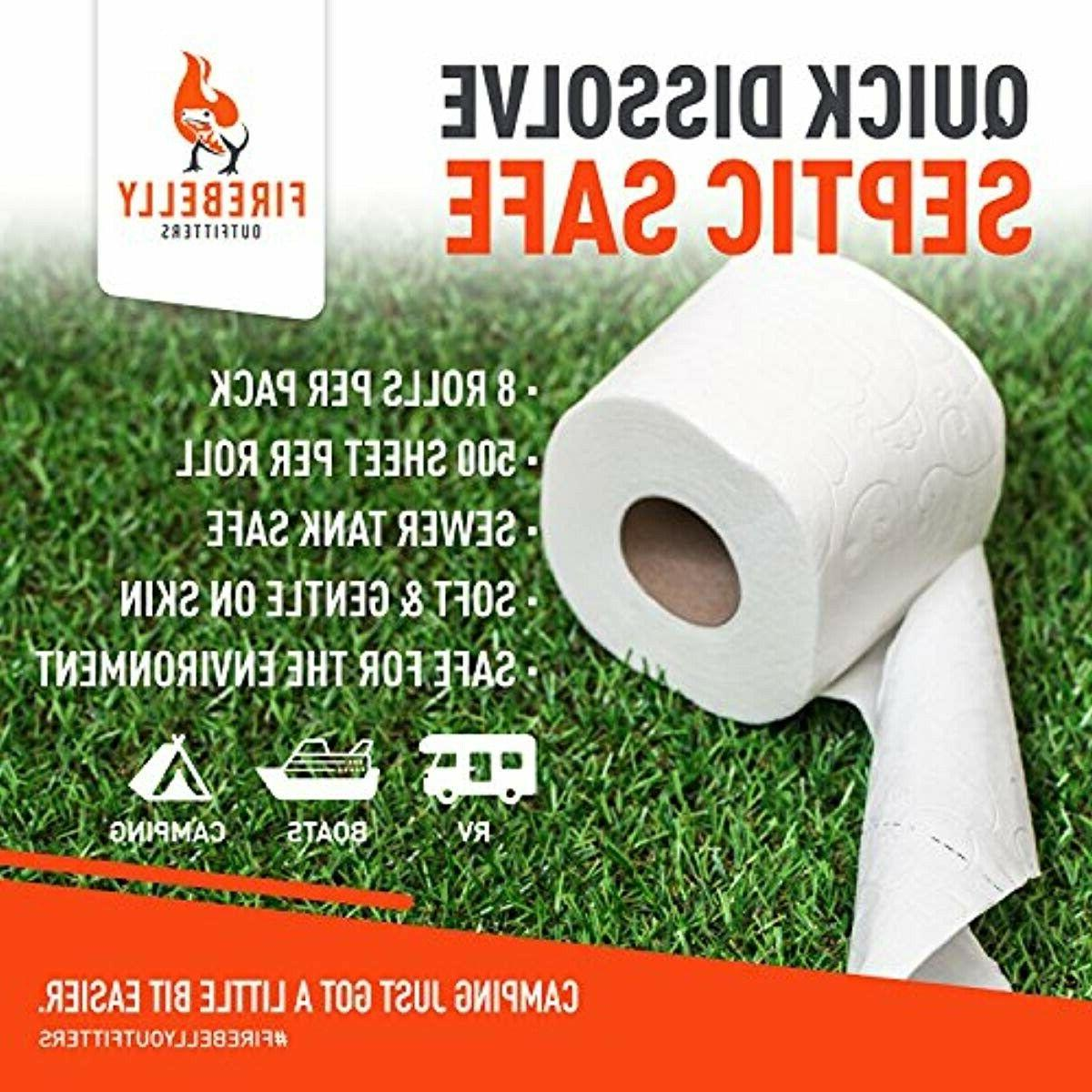 Paper, Septic - 8 2-Ply, 500 Shee