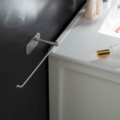 SELF-ADHESIVE Stainless Paper Roll Towel Rack