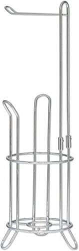 SImpleHouseware Toilet Paper Roll Stand, Chrome Finish