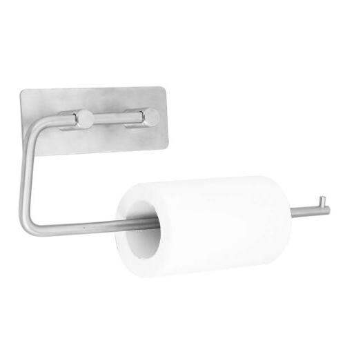 Stainless Steel Toilet Holder Hanger Tissue Rack Towel US