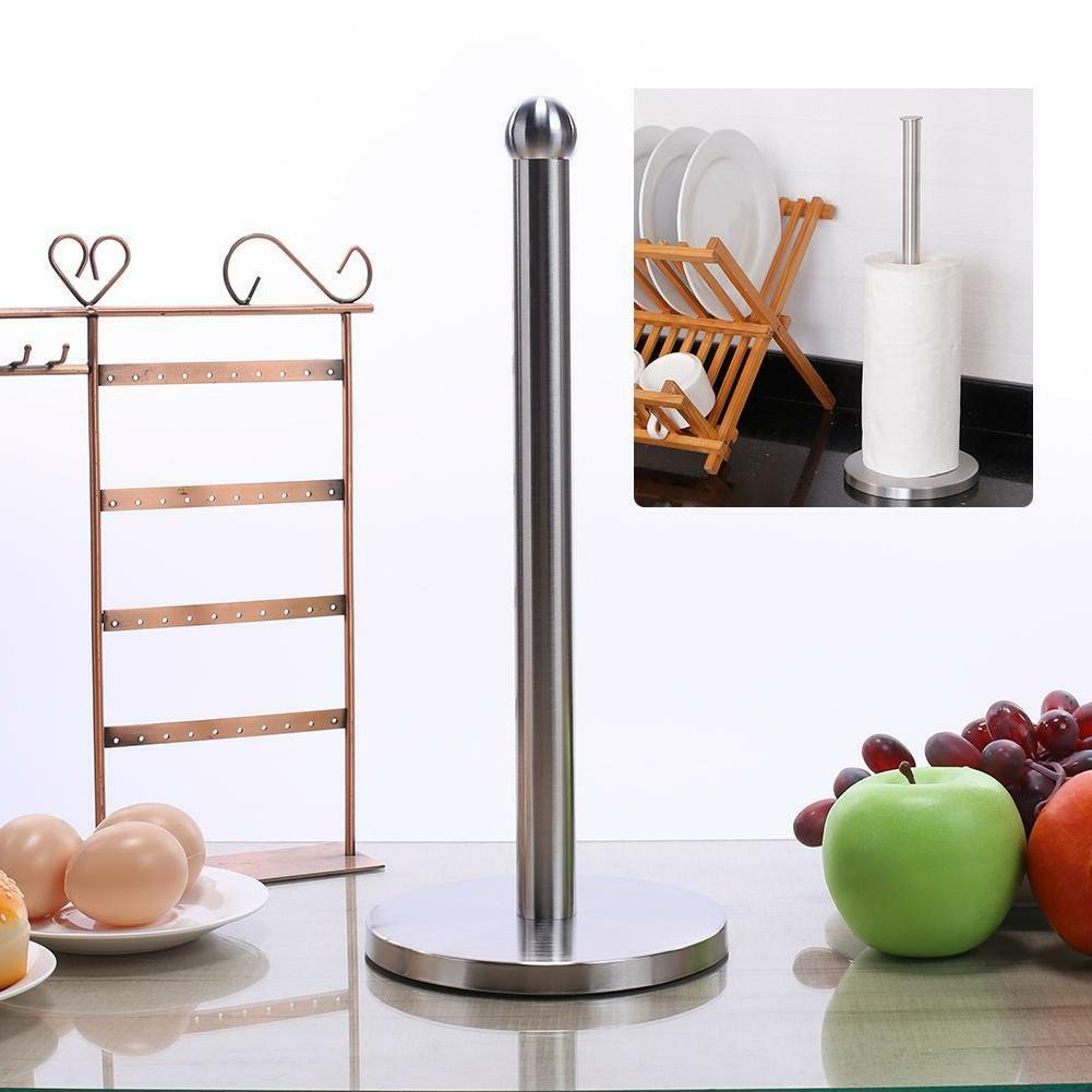 Stainless Steel Toilet Paper Holder Roll Tissue Stand Kitche