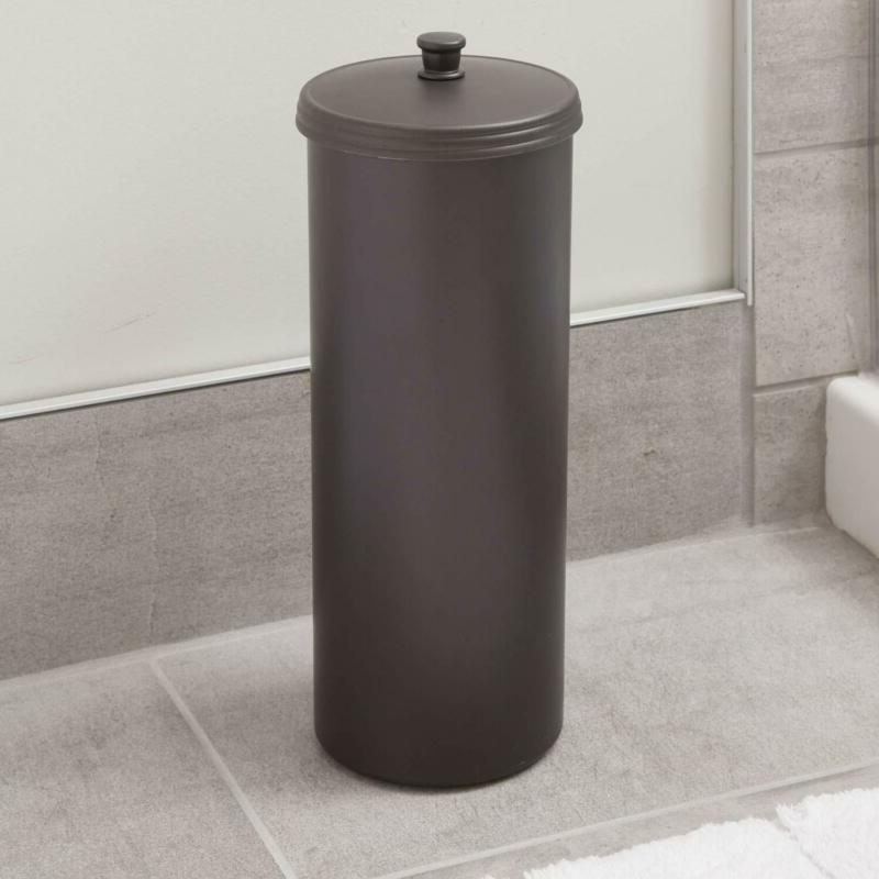 Standing Toilet Storage Home Tissue Container Canister NEW