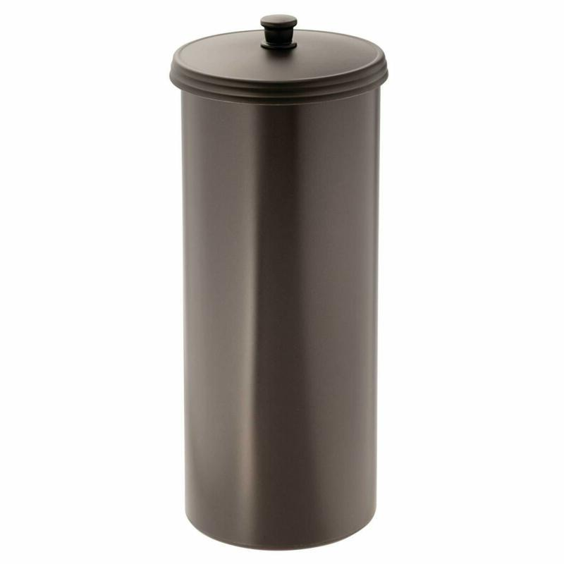Standing Toilet Paper Storage Bathroom Container Canister