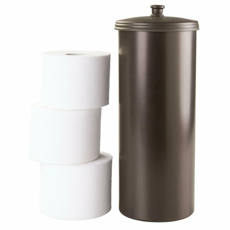 Standing Toilet Paper Storage Container Canister NEW