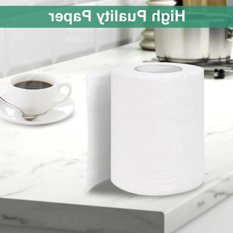 Super Paper Toilet Rolls Bathroom Tissue