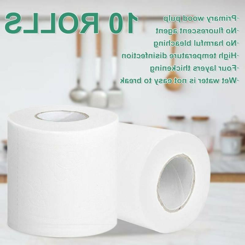 Super Toilet Paper Rolls Bathroom Tissue