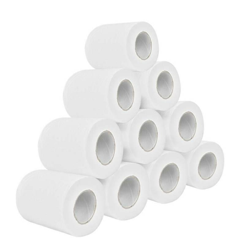 Super Soft Paper Toilet Paper Bulk Rolls Bathroom Tissue Household