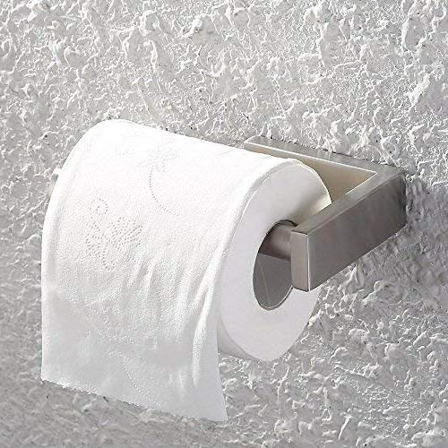 Kes SUS Steel Bathroom Lavatory Paper Dispenser Mount Brushed Finish, BPH206-2