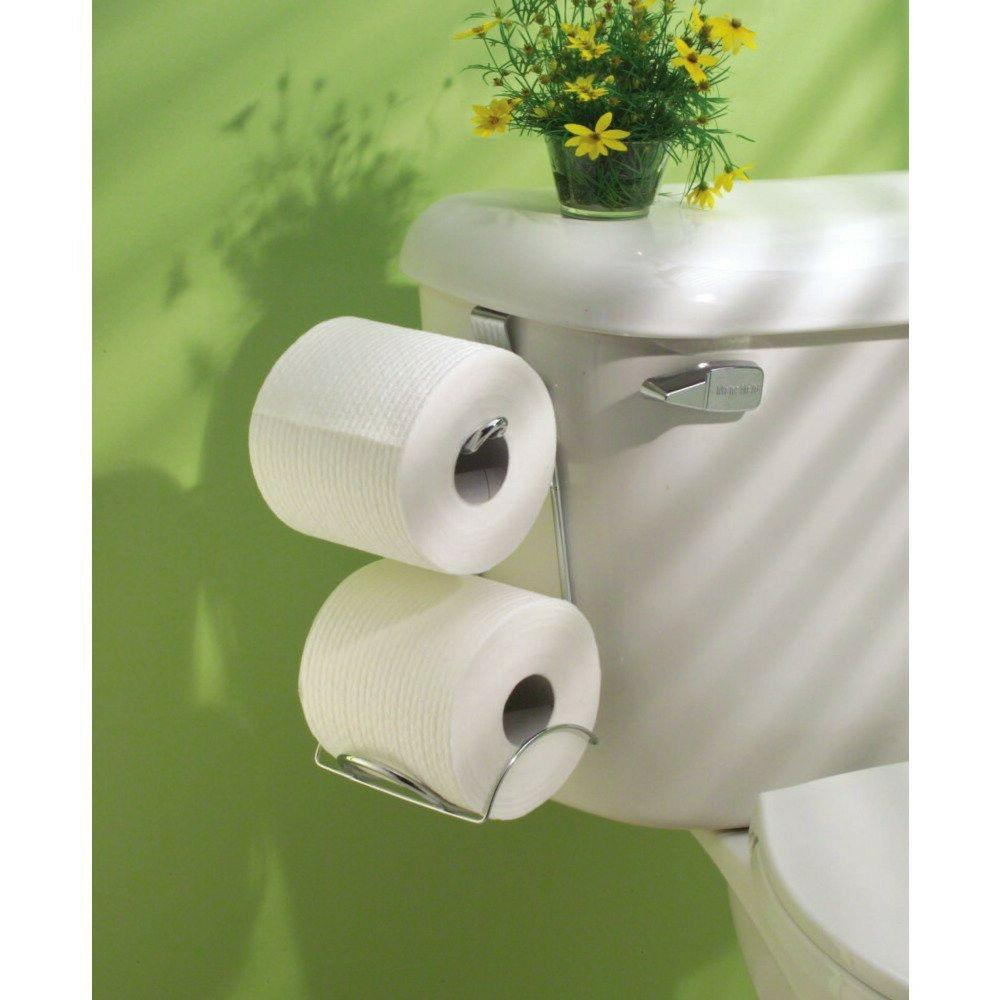 Tank Toilet Paper Holder Roll Rack Hanging