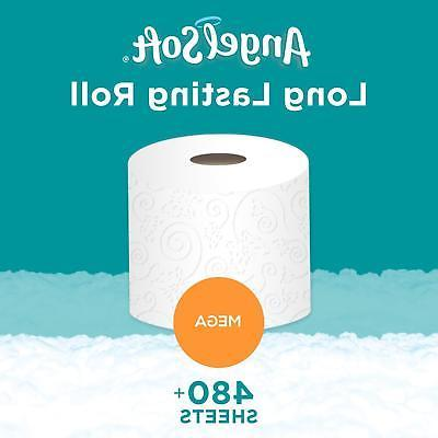 Angel Soft Toilet Paper, 36 Mega = Regular Bath Tissue, 4
